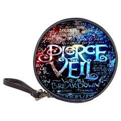 Pierce The Veil Quote Galaxy Nebula Classic 20 Cd Wallets