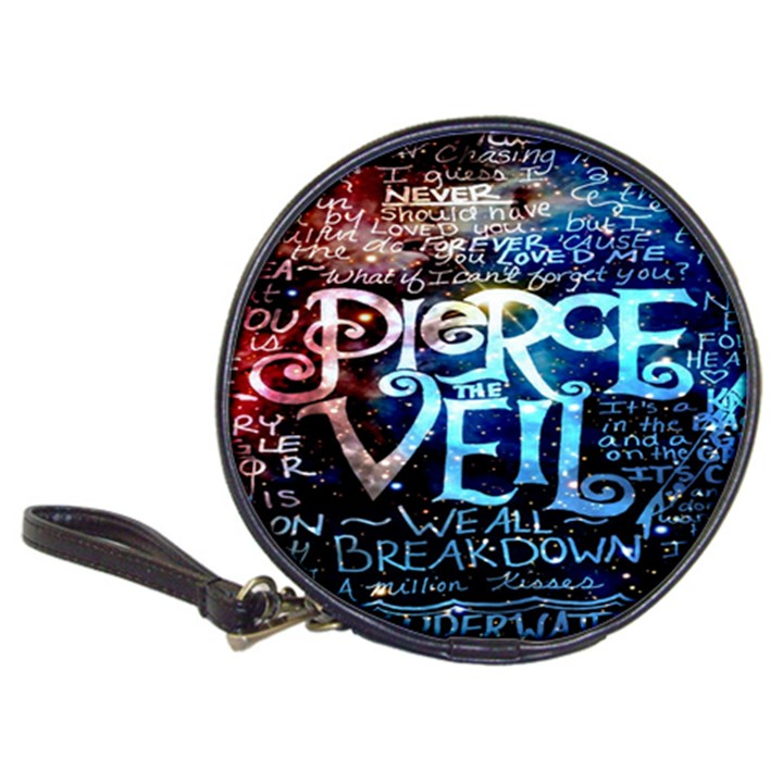 Pierce The Veil Quote Galaxy Nebula Classic 20-CD Wallets