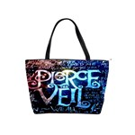 Pierce The Veil Quote Galaxy Nebula Shoulder Handbags Front