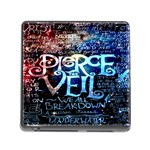 Pierce The Veil Quote Galaxy Nebula Memory Card Reader (Square) Front