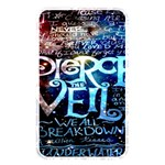 Pierce The Veil Quote Galaxy Nebula Memory Card Reader Front