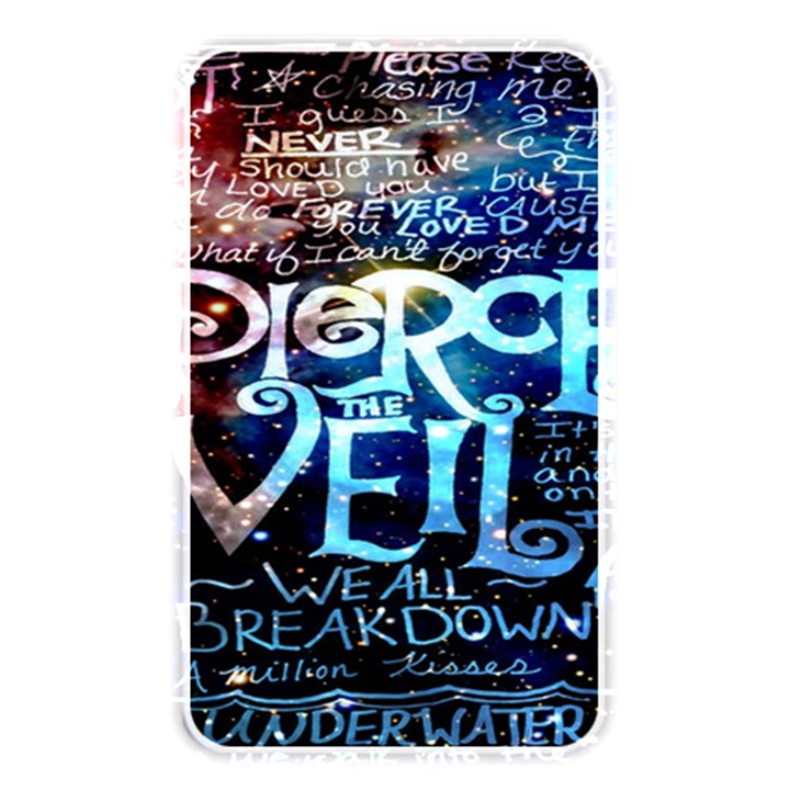 Pierce The Veil Quote Galaxy Nebula Memory Card Reader