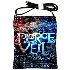 Pierce The Veil Quote Galaxy Nebula Shoulder Sling Bags