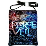 Pierce The Veil Quote Galaxy Nebula Shoulder Sling Bags Front
