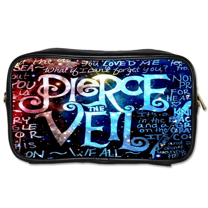 Pierce The Veil Quote Galaxy Nebula Toiletries Bags