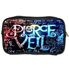Pierce The Veil Quote Galaxy Nebula Toiletries Bags 2 Side