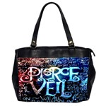 Pierce The Veil Quote Galaxy Nebula Office Handbags (2 Sides)  Front