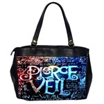 Pierce The Veil Quote Galaxy Nebula Office Handbags (2 Sides)  Back