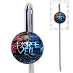 Pierce The Veil Quote Galaxy Nebula Book Mark Front