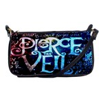 Pierce The Veil Quote Galaxy Nebula Shoulder Clutch Bags Front