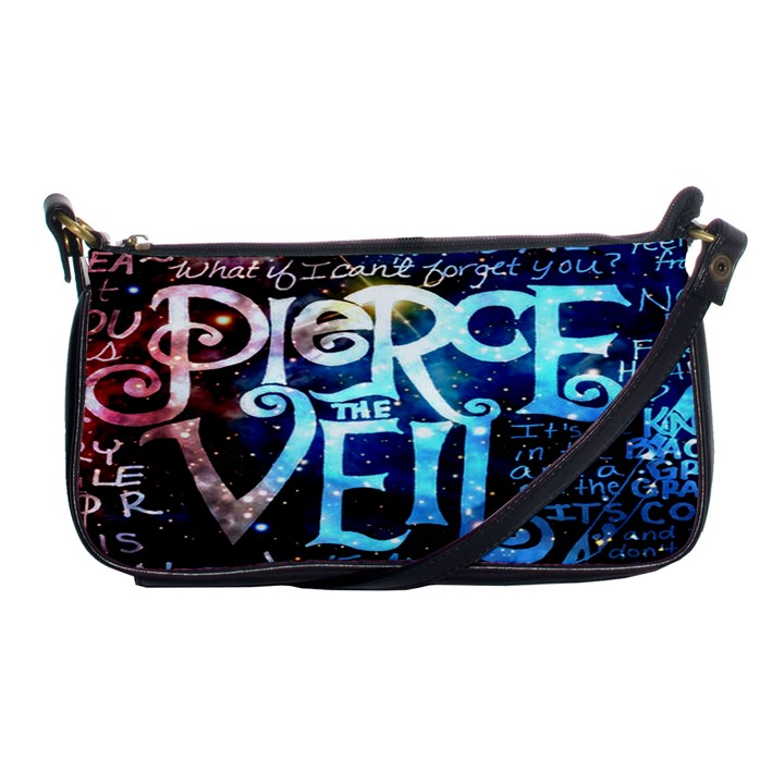 Pierce The Veil Quote Galaxy Nebula Shoulder Clutch Bags