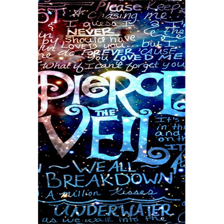 Pierce The Veil Quote Galaxy Nebula 5.5  x 8.5  Notebooks