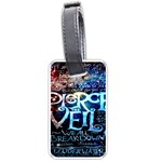 Pierce The Veil Quote Galaxy Nebula Luggage Tags (Two Sides) Back