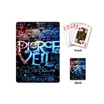 Pierce The Veil Quote Galaxy Nebula Playing Cards (Mini)  Back