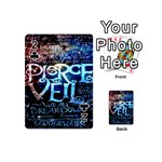 Pierce The Veil Quote Galaxy Nebula Playing Cards 54 (Mini)  Front - Club2