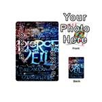Pierce The Veil Quote Galaxy Nebula Playing Cards 54 (Mini)  Front - Joker1