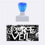 Pierce The Veil Quote Galaxy Nebula Rubber Stamps (Medium)  1.34 x0.71  Stamp