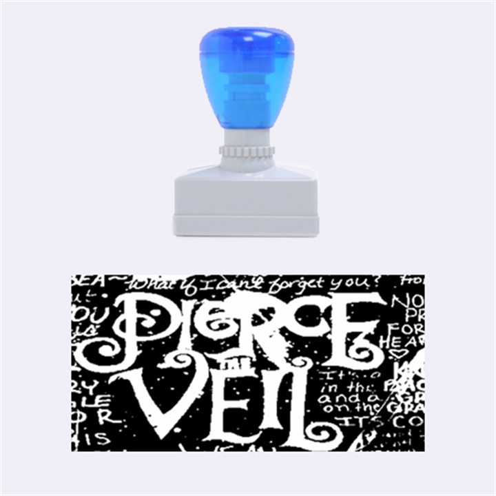 Pierce The Veil Quote Galaxy Nebula Rubber Stamps (Medium)
