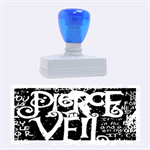 Pierce The Veil Quote Galaxy Nebula Rubber Stamps (Large) 2.26 x1.05  Stamp