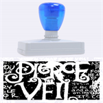 Pierce The Veil Quote Galaxy Nebula Rubber Address Stamps (XL) 3.13 x1.38  Stamp