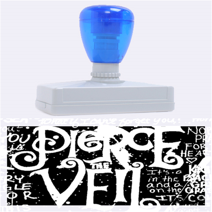 Pierce The Veil Quote Galaxy Nebula Rubber Address Stamps (XL)