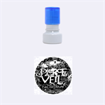 Pierce The Veil Quote Galaxy Nebula Rubber Round Stamps (Small) 1.12 x1.12  Stamp