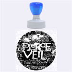Pierce The Veil Quote Galaxy Nebula Rubber Round Stamps (Large) 1.875 x1.875  Stamp