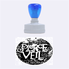 Pierce The Veil Quote Galaxy Nebula Rubber Oval Stamps
