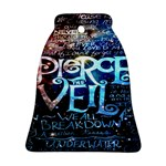 Pierce The Veil Quote Galaxy Nebula Ornament (Bell)  Front