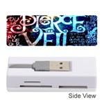 Pierce The Veil Quote Galaxy Nebula Memory Card Reader (Stick)  Front