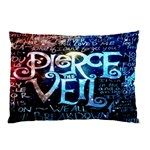 Pierce The Veil Quote Galaxy Nebula Pillow Case (Two Sides) Back