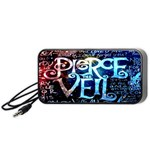 Pierce The Veil Quote Galaxy Nebula Portable Speaker (Black)  Front