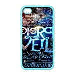 Pierce The Veil Quote Galaxy Nebula Apple iPhone 4 Case (Color) Front