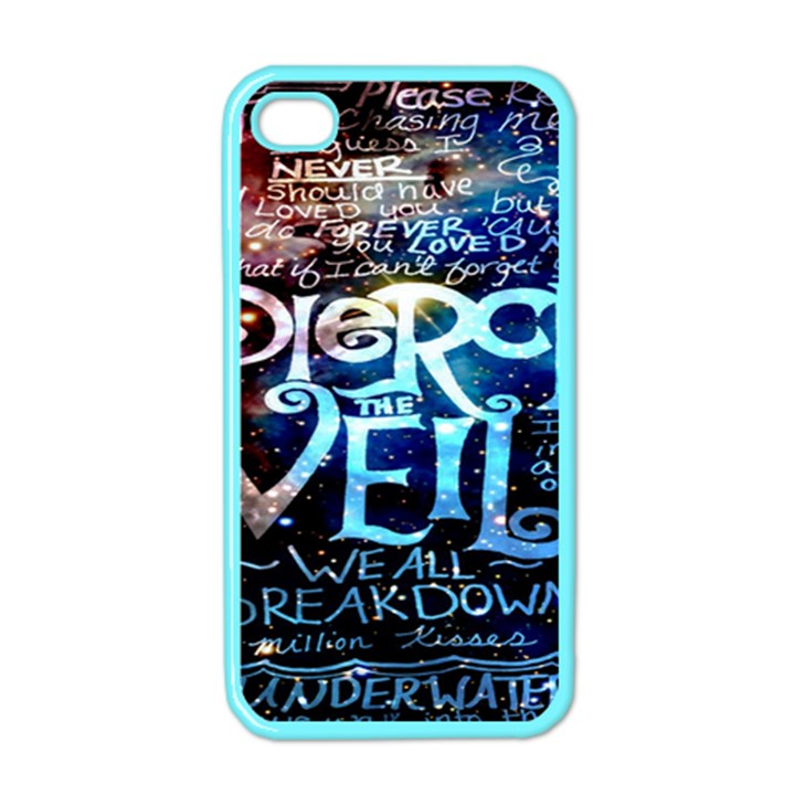 Pierce The Veil Quote Galaxy Nebula Apple iPhone 4 Case (Color)