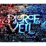 Pierce The Veil Quote Galaxy Nebula Deluxe Canvas 14  x 11  14  x 11  x 1.5  Stretched Canvas