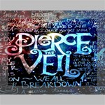 Pierce The Veil Quote Galaxy Nebula Deluxe Canvas 16  x 12   16  x 12  x 1.5  Stretched Canvas