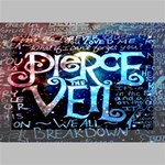 Pierce The Veil Quote Galaxy Nebula Deluxe Canvas 18  x 12   18  x 12  x 1.5  Stretched Canvas