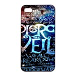Pierce The Veil Quote Galaxy Nebula Apple iPhone 4/4s Seamless Case (Black) Front