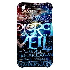 Pierce The Veil Quote Galaxy Nebula Apple iPhone 3G/3GS Hardshell Case