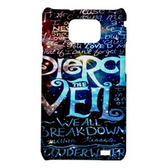Pierce The Veil Quote Galaxy Nebula Samsung Galaxy S2 i9100 Hardshell Case
