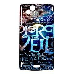 Pierce The Veil Quote Galaxy Nebula Sony Xperia Arc