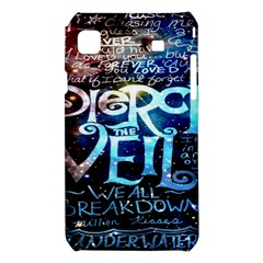 Pierce The Veil Quote Galaxy Nebula Samsung Galaxy S i9008 Hardshell Case