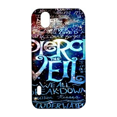 Pierce The Veil Quote Galaxy Nebula LG Optimus P970