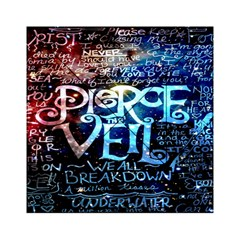 Pierce The Veil Quote Galaxy Nebula Acrylic Tangram Puzzle (6  x 6 )
