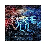 Pierce The Veil Quote Galaxy Nebula Acrylic Tangram Puzzle (6  x 6 ) Front
