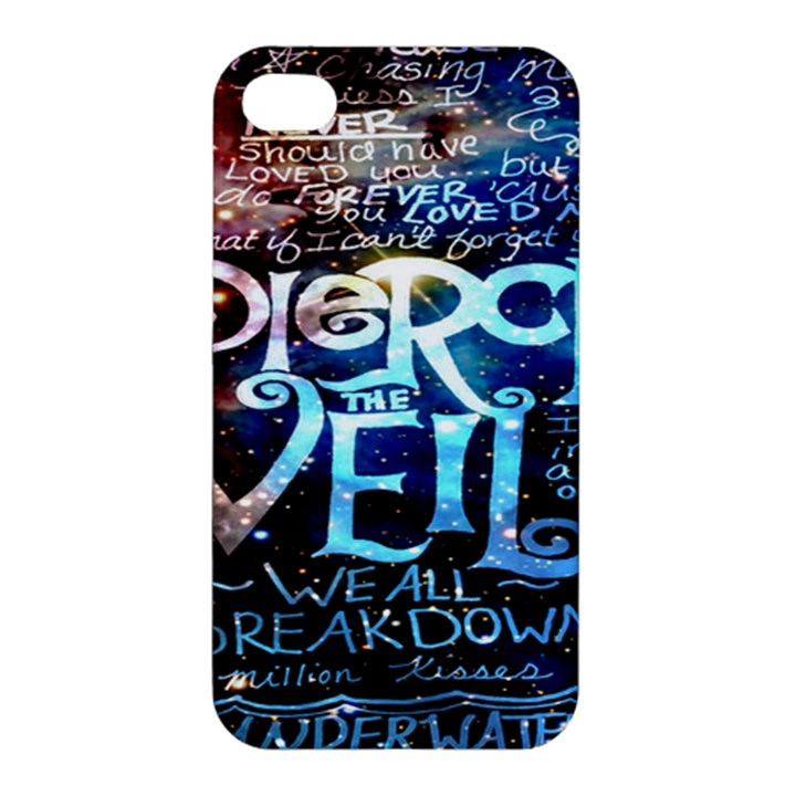 Pierce The Veil Quote Galaxy Nebula Apple iPhone 4/4S Premium Hardshell Case