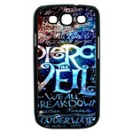 Pierce The Veil Quote Galaxy Nebula Samsung Galaxy S III Case (Black) Front