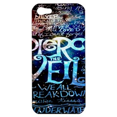 Pierce The Veil Quote Galaxy Nebula Apple Iphone 5 Hardshell Case