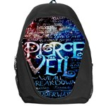 Pierce The Veil Quote Galaxy Nebula Backpack Bag Front