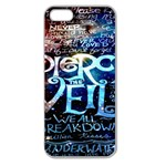 Pierce The Veil Quote Galaxy Nebula Apple Seamless iPhone 5 Case (Clear) Front